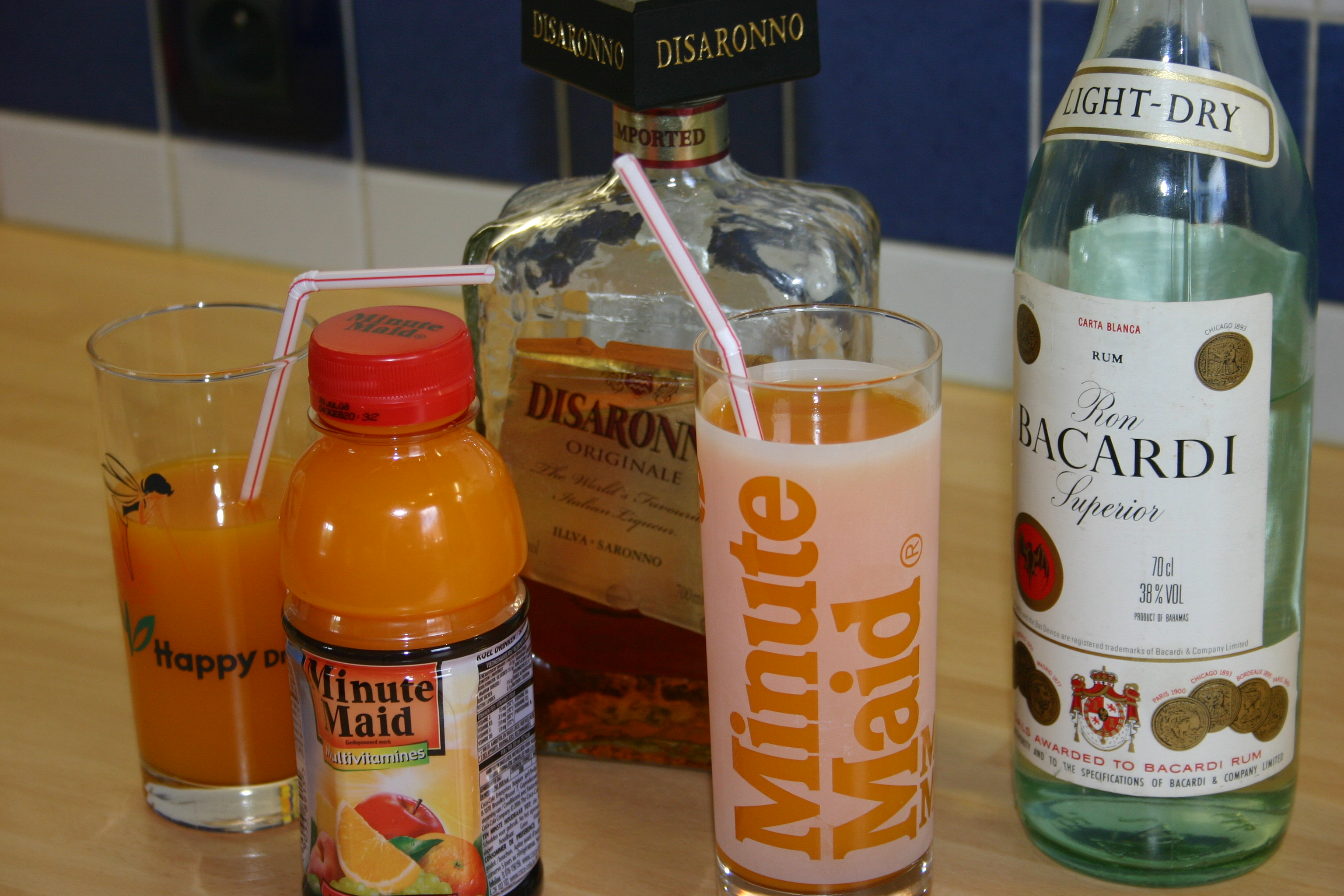 Minute maid cocktails