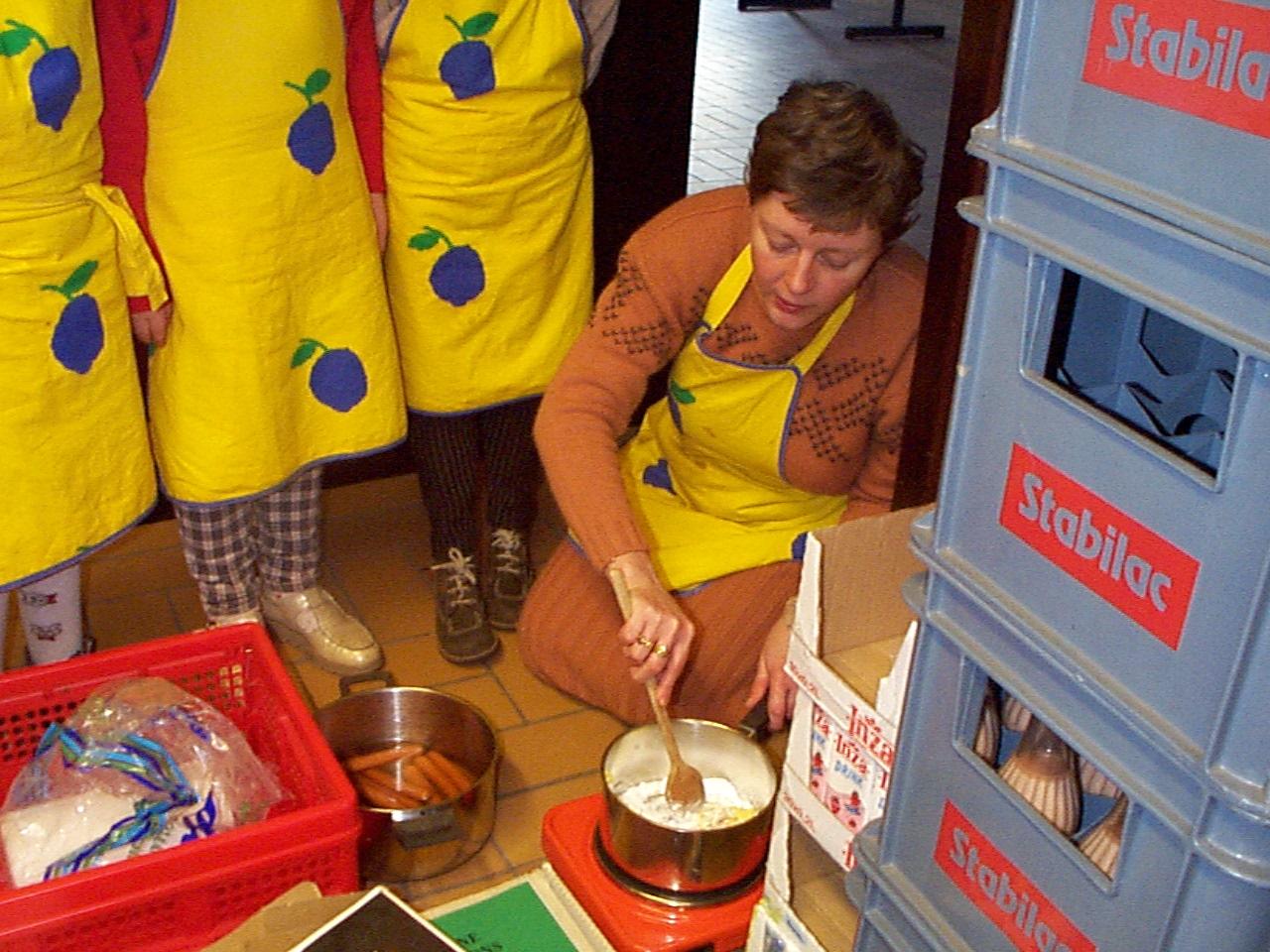 Café glacé met boterspekken