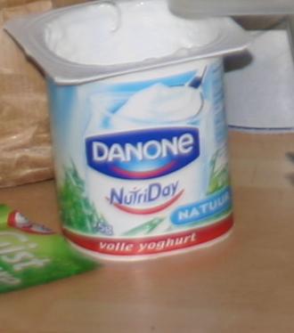 Yoghurt met fruit & honing