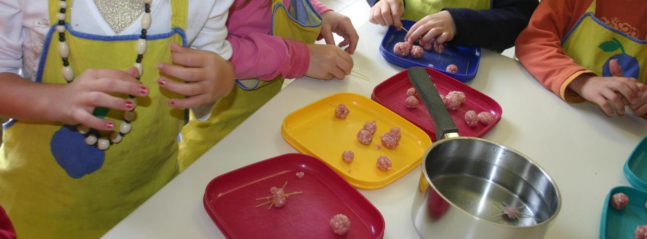 wortelsoep met babyspinnetjes