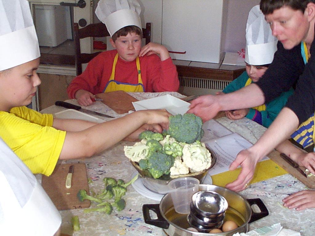 Bloemkool-broccolisoep